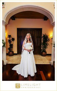 Limelight Photography, www.stepintothelimelight.com, Wedding, Avila Golf and Country Club, Florida, Bride, Wedding Dress, Veil, Flowers, Rose, Bouquet
