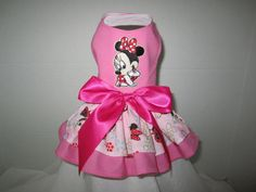 Dog Dress  XXS  Minnie Mouse  Nina's Couture by NinasCoutureCloset, $40.00