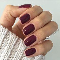 Burgundy nails. #nailart
