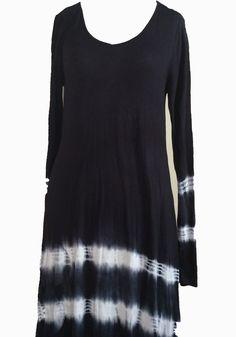 Nautical tie Dye Dress