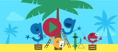 23 dic 2016 - Holidays 2016 (Day Warm Climates Warm up your singing voice and get ready to bring some summer cheer! Today's Doodle celebrates the season w. Merry Christmas And Happy New Year, Christmas Carol, Happy Holidays, Christmas Holidays, Google Christmas, Google Doodles, 23 December, Google Today, Today In History