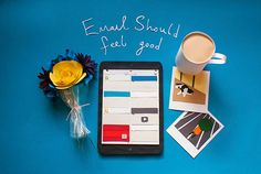 Email Should Feel Good - Paperfold on Behance by Hannah Miles (utensils0)