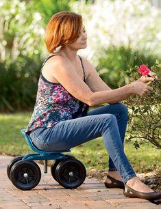 Low Rider Swivel Scoot #GardenChair