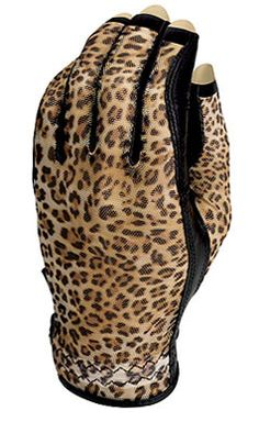 Check out our Wild Cheetah (LH Only) Evertan Ladies Three Quarter Golf Gloves! Find the best golf gear and accessories at Lori's Golf Shoppe. Click through now to see this Golf Gloves!