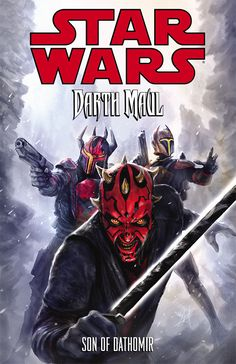 Darth Maul with the darksaber