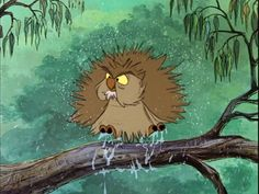 Disney Challenge Day 11 (favorite animal sidekick): Archimedes from The Sword in the Stone.  I just love owls, and I especially love owls with attitude.  Archimedes fits the bill :)