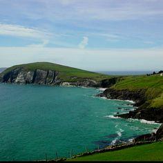 Ireland coast and Scotland landscape