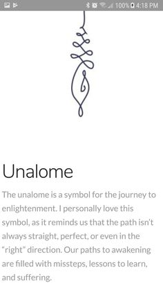 The unalome is a symbol for the journey of enlightenment.{Unalome} The unalome is a symbol for the journey of enlightenment. Neue Tattoos, Body Art Tattoos, Small Tattoos, Tatoos, Saying Tattoos, Inner Elbow Tattoos, Random Tattoos, Trendy Tattoos, Lottus Tattoo