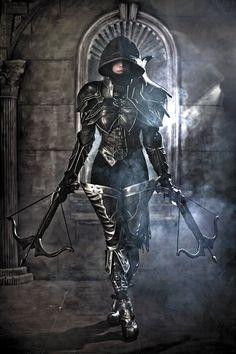JG's PlayGround: Diablo III Demon Hunter Cosplay by Tasha