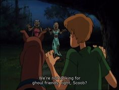 """There's always time for humor. 