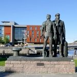 Skulpturer i Trondheim sentrum Gate, Sculpture, Portal