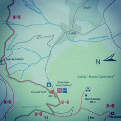 #Sentieri del #Monte Pisano. La nuova #segnaletica al #Castellare