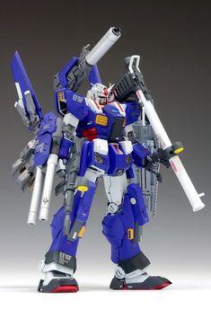 C3 Japan: 1/144 Full Armor Gundam [BLUE ARMOR Ver.] Resin Kit - Release Info - Gundam Kits Collection News and Reviews