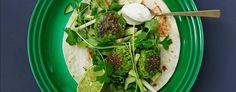 Brokkoli- og erteboller med ingefær i wrap | KIWI