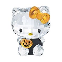 Swarovski Hello Kitty Halloween (€135) ❤ liked on Polyvore featuring home, home decor, holiday decorations, halloween, autumn, jewelry, accessories, animals, fall home decor and hello kitty home accessories