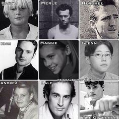 The Walking Dead- The Younger Years... Hershel was really handsome!