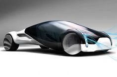 Maininki Future Car, futuristic vehicle, automobile, future car, concept car, futuristic car