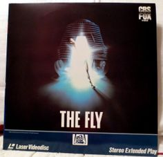 Laserdisc -  The Fly 1986  1503-80  - Jeff Goldblum - Geena Davis