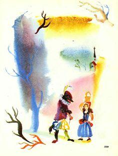 Сказочные Иллюстрации: Г.Траугот - Красная шапочка*