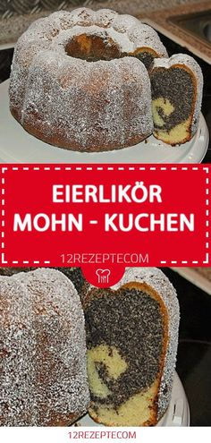 Eierlikör - Mohn - Kuchen cake 😍 😍 - kuchenrezept - #cake #Eierlikör #... - #Cake #Eierlikör #Kuchen #Kuchenrezept #Mohn Nutella Blondies, Easy Nutella Brownies, Nutella Hot Chocolate, Chocolate Desserts, Nutella Recipes, Coffee Recipes, Nutella Biscuits, Poppy Seed Cake, Pound Cake Recipes