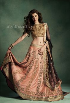 myShaadi.in > Indian Bridal Wear by JADE by Monica