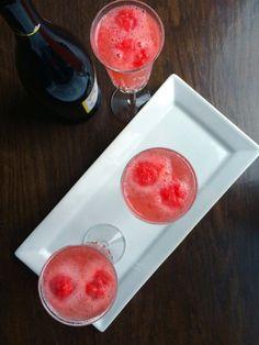 Raspberry Ginger Bellini - The Lemon Bowl
