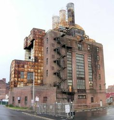 Abandoned factory in Nort Philadelphia
