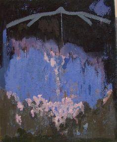 tettnica pigmento affresco su tela