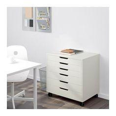 ALEX Schubladenelement auf Rollen - weiß - IKEA 67x48x66 99,-