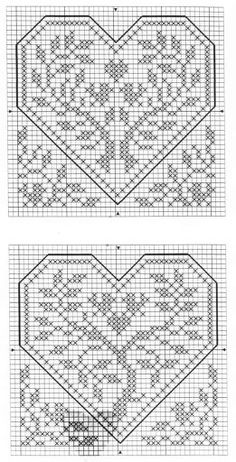 Схемы 2. Renato Parolin Quattro Cuori (2) (Хобби)