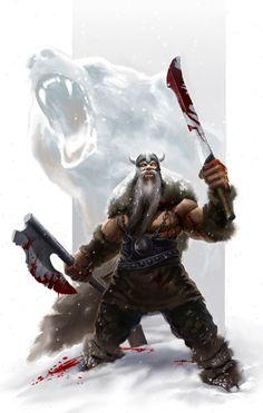 Viking Berserker by SirenD.deviantart.com on @deviantART