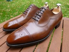 John Lobb Ilford - UK 9.5 E - 7000 Last - Parisian Misty Brown Calf