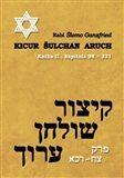 Kicur šulchan aruch (Rabi Šlomo Ganzfried) [CZ] Kniha