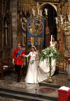 29 April 2011 Royal wedding at Westminster Abbey - Prince William & Kate Middleton Lady Diana, Kate Und William, Prince William And Catherine, William Arthur, Royal Brides, Royal Weddings, Princesa Diana, Principe William Y Kate, William Kate Wedding