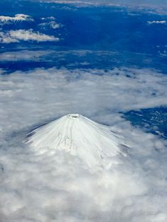 Mt. Fuji, on board view