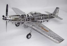 Functional-Miniature-Fighter-Plane-Models-P-51D-Mustang