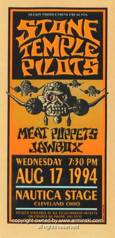 Stone Temple Pilots, Meat Puppets and Jawbox 1994