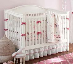 Madison Fixed Gate 3-in-1 Crib #PotteryBarnKids