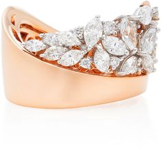 Liberal Modern 18ct Rose Gold Ring To Have A Long Historical Standing brand New