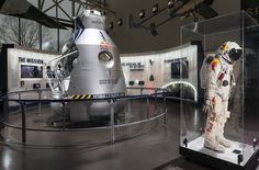 Felix Baumgartner's Balloon Gondola and Space Suit Are Now on Display at the…