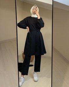 Modest Fashion Hijab, Modern Hijab Fashion, Street Hijab Fashion, Casual Hijab Outfit, Hijab Fashion Inspiration, Korean Fashion Trends, Muslim Fashion, Modest Outfits, Fashion Outfits