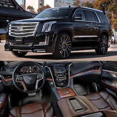 """Blacked Out Cadillac Escalade on 26"""