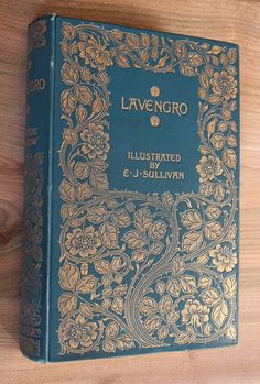 Lavengro by George Borrow, published by Macmillan in 1896 and first edition with illustrations by E.J.Sullivan.