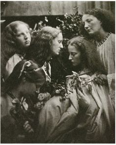 The five wise virgins (1864) by Julia Margaret Cameron | Flickr - Photo Sharing!