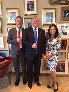 "H Y P O C R I T E S the lot of 'em.  Nota bene the Playboy pix behind them all = The Donald AND.AND allegedly ""evangelical religious"" leaders !  Heh.Heh.Heh.  Tuesday, 21 June 2016  What a freakin' joke these people are !  D a n g e r o u s, too."