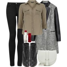 Allison Inspired Outfit with Requested Boots by veterization on Polyvore featuring Dorothy Perkins, Zara, Topshop, rag & bone, Jil Sander and Korres Other Outfits, Trendy Outfits, Fall Outfits, Cute Outfits, Pants Outfit, Dress Outfits, Dresses, Teen Wolf Outfits, Girl Fashion