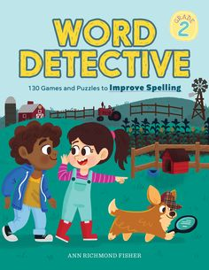 Word Detective, Grade 130 Games And Puzzles To Improve Spelling - Paperback - (December Spelling Worksheets, Spelling Activities, Comprehension Activities, Fun Activities, Spelling Bee Word List, 2nd Grade Spelling, Learn To Spell, Colors And Emotions, New Words