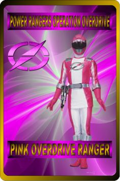 Pink Overdrive Ranger by rangeranime on Power Rangers Fan Art, Power Rangers Ninja Storm, Pink Power Rangers, Mighty Morphin Power Rangers, Power Rangers Operation Overdrive, Naruto Sage, Power Rengers, Go Busters, Disney Xd