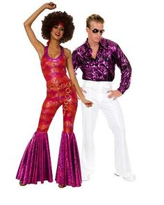 womens sexy foxy lady 70s costume womens couples halloween costumes