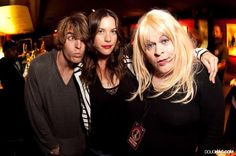 Liv Tyler with Dallas Clayton and Ginger Coyote at Bebe Buells performance at The Roxy, Los Angeles  Date: 22-Jun-2010